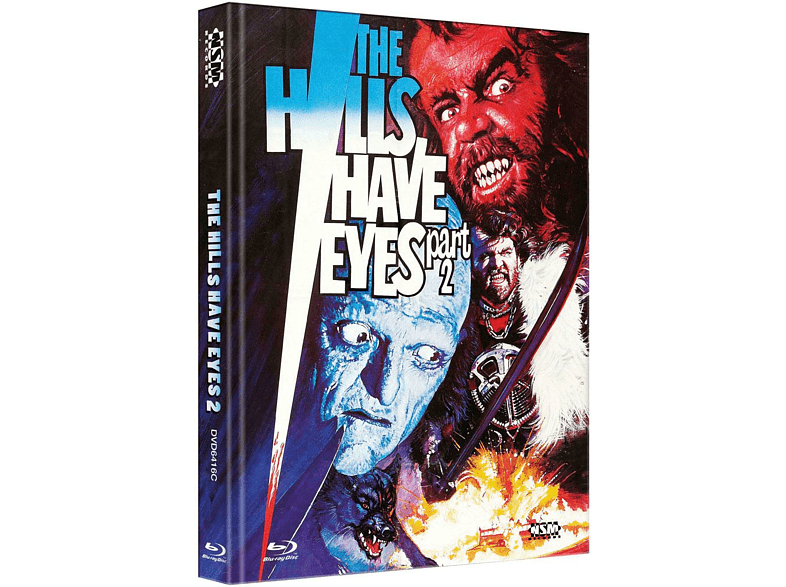 Hills Have Eyes 2 (1984) (Mediabook Cover C) [Blu-ray + DVD]