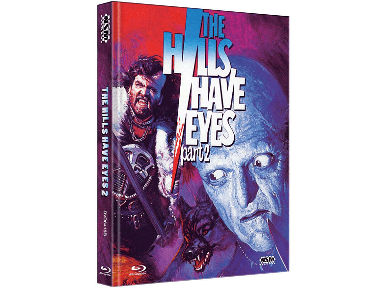 Hills Have Eyes 2 (1984) (Mediabook Cover B) [Blu-ray + DVD]