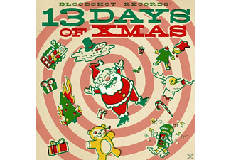 VARIOUS - Bloodshot Records' 13 Days Of Xmas (LTD LP+MP3) - (LP + Download)