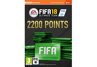 EA Fifa 18 2200 Fut Points PC Oyun