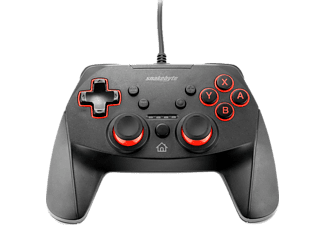 SNAKEBYTE Game:Pad SW™, Controller, Schwarz/Rot