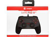 SNAKEBYTE Game:Pad SW™ Controller, Schwarz/Rot