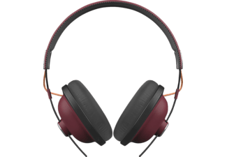 PANASONIC RP-HTX80BE, Over-ear Kopfhörer, Headsetfunktion, Bluetooth, Rot/Schwarz