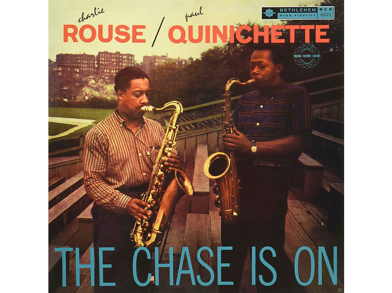 ROUSE,CHARLIE/QUINICHETTE,PAUL - The Chase Is On [Vinyl]