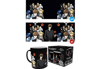 Death Note Tasse Group mit Thermoeffekt