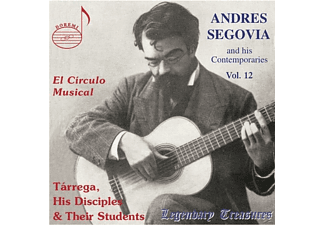 VARIOUS - Legendary Treasures-Segovia & His - (CD)