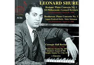 New York Philharmonic Orchest Leonard Shure (pno) - Legendary Treasures-Leonard Shure - (CD)