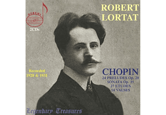 1931 Robert Lortat (pno) 1928 - Legendary Treasures-Robert Lortat - (CD)