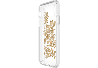 SPECK HardCase Presidio Handyhülle, Transparent, passend für Apple iPhone X