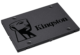 "Disco Duro SSD 240 GB - Kingston A400, SSD 240GB, Sata 2,5"", Negro"