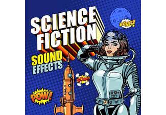 Sound Effects - Science Fiction Sound Effects - (CD)