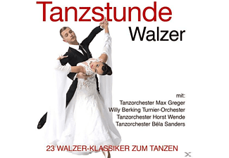 Tanzorchester Max Greger, Willy Berking Turnier-Orchester, Tanzorchester Horst Wende, Tanzorchester Béla Sanders - Tanzstunde-Walzer - (CD)