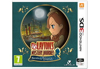 Laytons Mystery Journey Katrielle and the Millionaires Conspiracy Nintendo 3DS