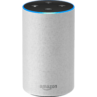 AMAZON Echo (2. Generation) Smart Speaker, Sandstein