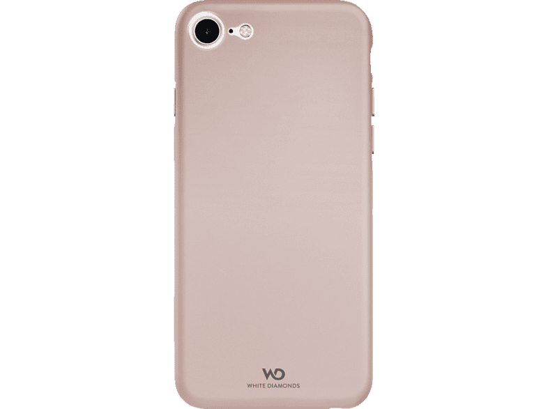 WHITE DIAMONDS Ultra Thin Iced , Backcover, Apple, iPhone 7, iPhone 8, Polycarbonat/Thermoplastisches Polyurethan, Rosegold
