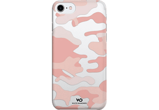 WHITE DIAMONDS Camouflage iPhone 6, iPhone 6s, iPhone 7 Handyhülle, Rosegold