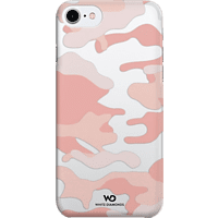 WHITE DIAMONDS Camouflage , Backcover, Apple, iPhone 6, iPhone 6s, iPhone 7, Polycarbonat (PC), Rosegold