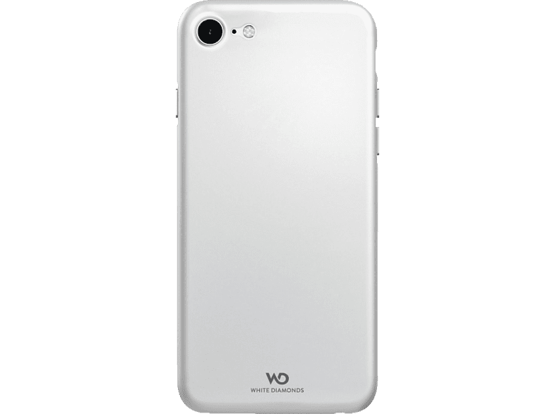 WHITE DIAMONDS Ultra Thin Iced Backcover Apple iPhone 7, iPhone 8 Polycarbonat/Thermoplastisches Polyurethan Transparent