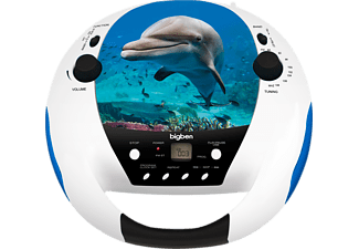 BIGBEN Draagbare radio CD USB Dolphin (CD52DOLPHIN5MP3USB)
