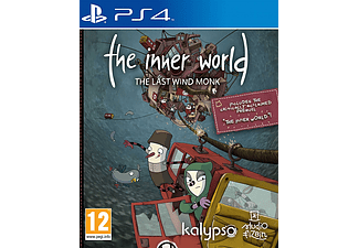 INNER WORLD THE LAST WIND MONK  Playstation 4