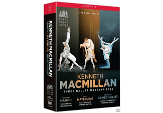 Three Ballet Masterpieces [DVD]