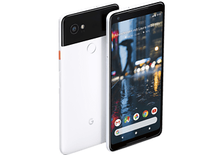 GOOGLE Pixel 2 XL, Smartphone, 64 GB, 6 Zoll, Black and White