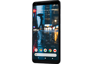 GOOGLE Pixel 2 XL, Smartphone, 64 GB, 6 Zoll, Just Black