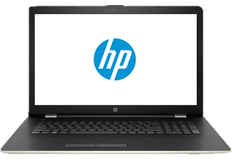 HP 17-bs130ng, Notebook mit 17.3 Zoll Display, Core™ i5 Prozessor, 12 GB RAM, 1 TB HDD, Radeon™ 530, Gold/Silber