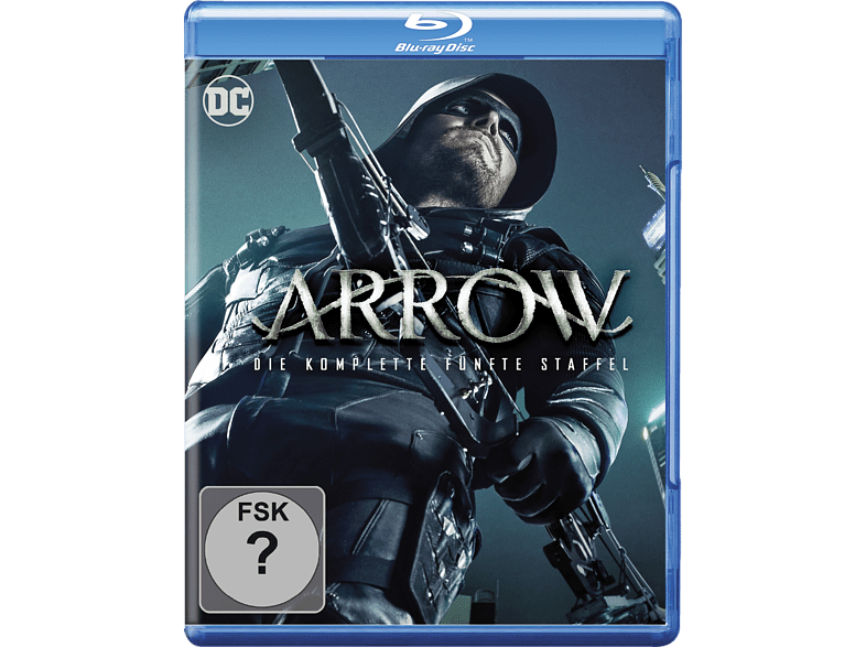 Arrow: Die komplette 5. Staffel (4 Discs) [Blu-ray]