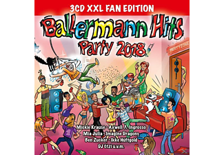 VARIOUS - Ballermann Hits Party 2018 (XXL Fan Edition) - (CD)