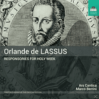 Ars Cantica - Responsories for Holy Week [CD]