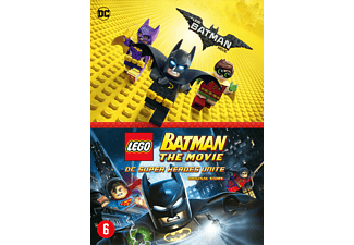 Lego Batman: The movie + Lego Batman: DC Superheroes Unite DVD