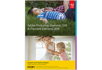 Adobe EDU Photoshop & Premiere Elements 2018 Win/Mac (Studenten & Lehrer Edition)