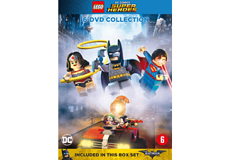 Lego DC Comics Super Heroes: 6-films Collection DVD