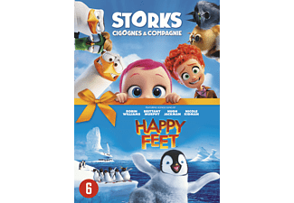 Cigognes & Compagnie + Happy Feet DVD