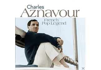 Charles Aznavour - French Pop Legends - (CD)