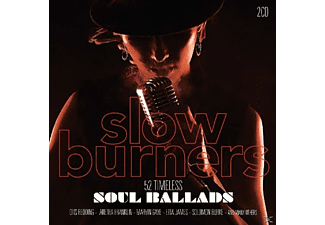 VARIOUS - Slow Burners-52 Timeless Soul Ballads - (CD)
