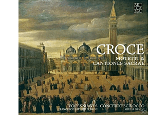 Voces Suaves, Francesco Saverio Pedrini, Concerto Scirocco, Giulia Genini - Motetti & Cantiones Sacrae - (CD)
