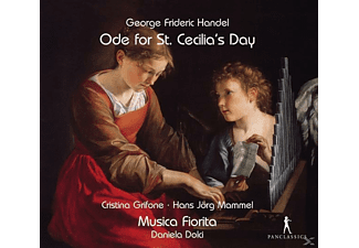 Cristina Grifone, Hans-Jörg Mammel, Musica Fiorita - Ode for St.Cecilia's Day - (CD)