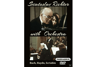 Sviatoslav Richter, Oleg Kagan, Marina Vorozhtsova, Moscow Conservatory Chamber Orchestra, Minsk Chamber Orchestra, USSR State Symphony, All-Union Radio and Central Television Large Chorus - Sviatoslav Richter in Moskau - (DVD)