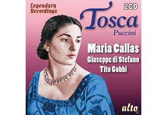 VARIOUS, La Scala Choir, La Scala Orchestra - Tosca-Legendary Performances: Maria Callas - (CD)
