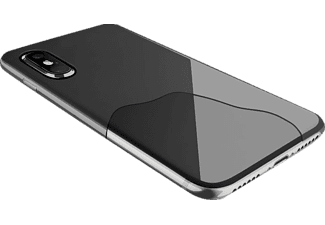 CELLULAR LINE ZERO Handyhülle, Transparent, passend für Apple iPhone X