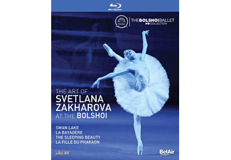Zakharova Svetlana - The Art of Svetlana Zakharova at the Bolshoi - (DVD)