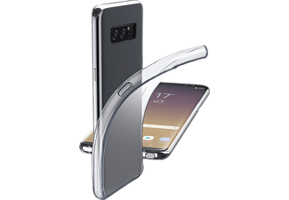 CELLULAR LINE FINE Backcover Samsung Galaxy Note 8 Thermoplastisches Polyurethan Transparent