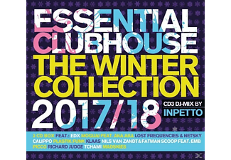 VARIOUS - Essential Clubhouse-The Winter Collection 17/18 [CD]