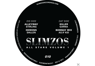 Garna/As.If Kid/Stirling/Dallen - Slimzos Allstars Vol.1 - (Vinyl)