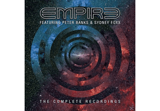 Empire feat. Peter Banks & Sydney Foxx - The Complete Recordings (3CD Set) - (CD)