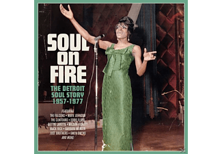 VARIOUS - Soul On Fire - Detroit Soul Story 1957-'77 (3CD Box) - (CD)