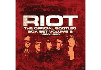 Riot - The Official Bootleg Box Set Vol.2 1980-1990 - (CD)