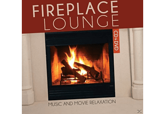 Fireplace Lounge - Music and Movie Relaxation - (CD + DVD Video)